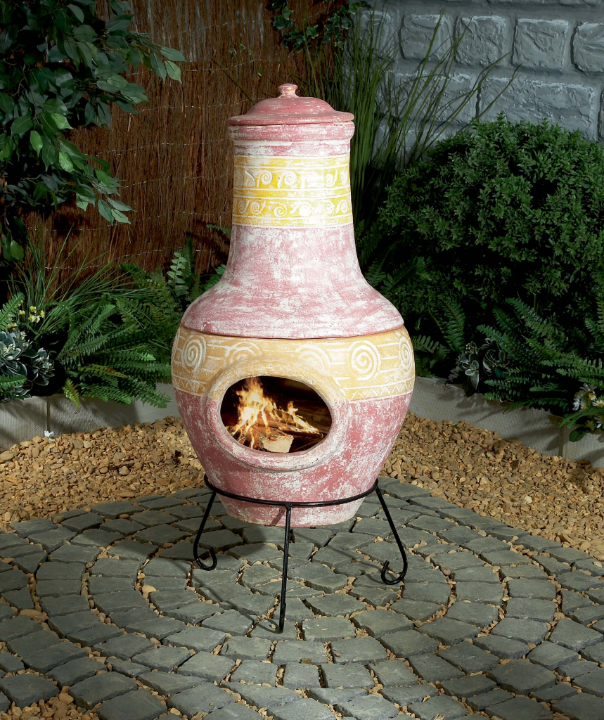 Stax trade centres for Terracotta chiminea