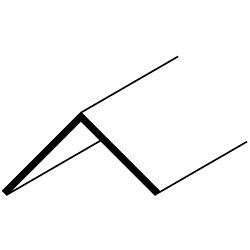 Easyfix 25mm Angle - 12 x 2.44m