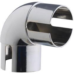 Rothley Handrail 90 Degree Elbow - Chrome Finish
