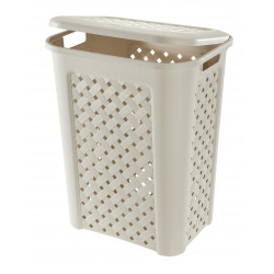 Tontarelli Cream Laundry Hamper