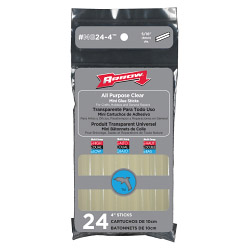 Arrow All Purpose Mini Glue Sticks (24)