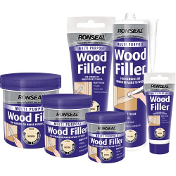 Ronseal Multi Purpose Wood Filler Tub Natural
