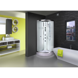 Aqualusso ILock White Shower Cabin