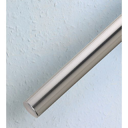 Rothley Handrail System - Pre Packed Rail - Steel Tube - Brushed Nickel Finish