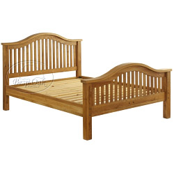 Besp-Oak Double Bed