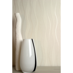 Arthouse Ltd Cream Textured Wave