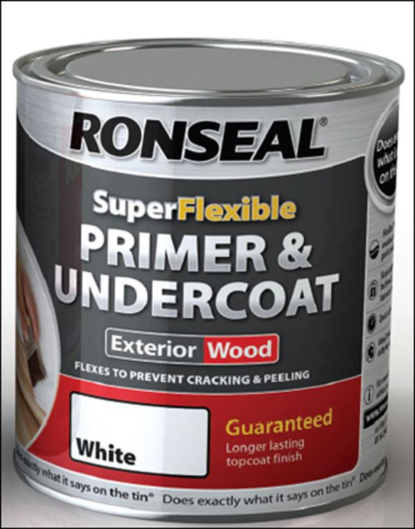 Ronseal Super Flexible Primer Undercoat 750ml Stax