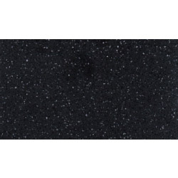 Earthstone Solid Surface - Black Star Melange Edging Strip