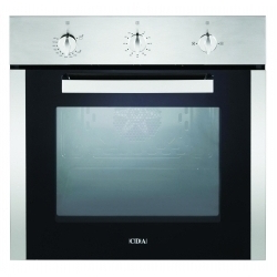 CDA Single Gas Fan Oven Stainless Steel