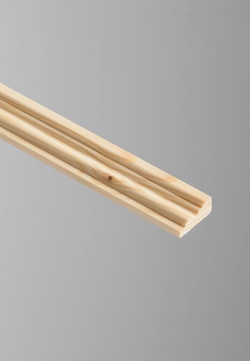 Cheshire Mouldings Barrel Pine Moulding - 9 x 21mm x 2.4m