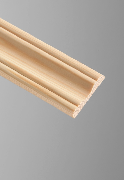 Cheshire Mouldings Cover Moulding Pine - 45 x 8mm