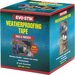 Evo-Stik Weatherproofing Tape - 50mm x 4m
