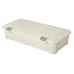 Curver Rattan Under Bed Storage Box