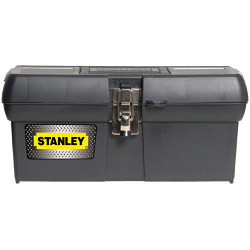Stanley Metal Latch Tool Box - 16""
