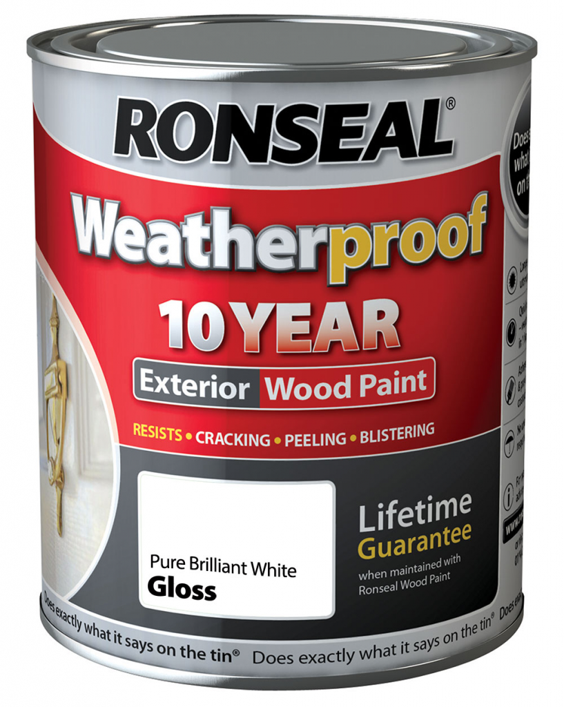 Ronseal 10 Year Weatherproof Wood Paint Gloss 2 5l Stax Trade Centres