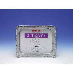 Caroline Foil Tray 2 Pack