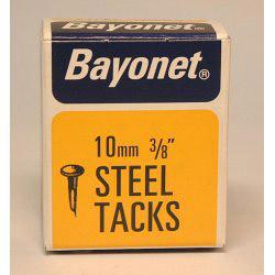 Bayonet Tacks (Fine Cut Steel) - Blue (Box Pack) - 10mm