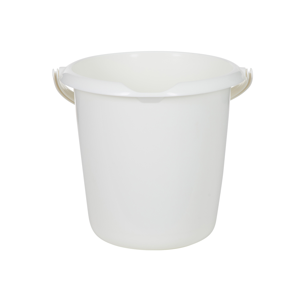 Whitefurze 10L Bucket - Cream