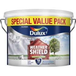 Dulux Weathershield Smooth Masonry Paint 7.5L