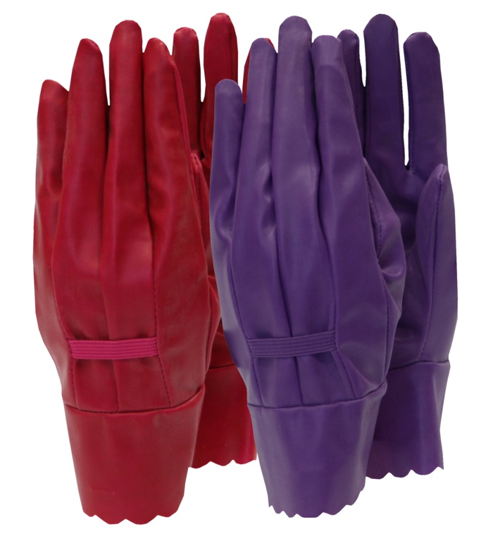 Town & Country Aqua Sure Ladies Gloves - Orchid Size - M