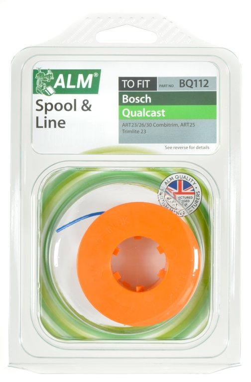 ALM Spool & Line - To Fit Qualcast & Bosch
