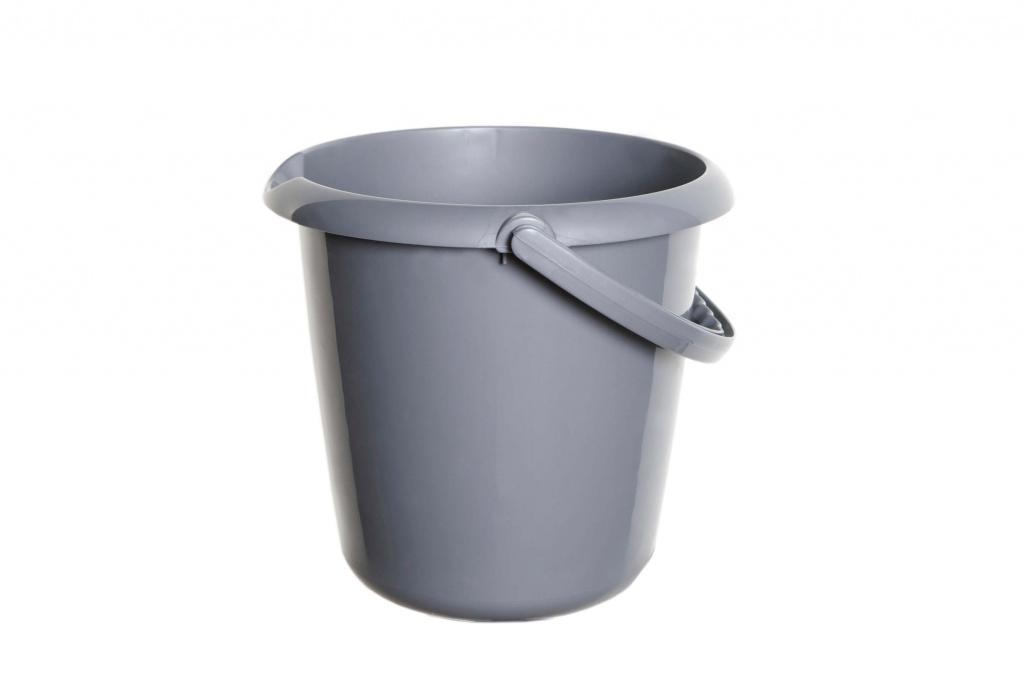 Whitefurze 5L Bucket - Silver