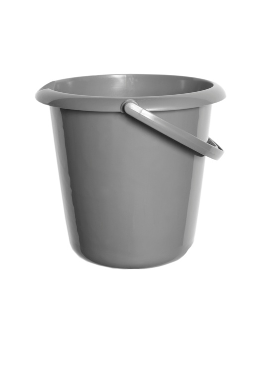 Whitefurze 10L Bucket - Silver