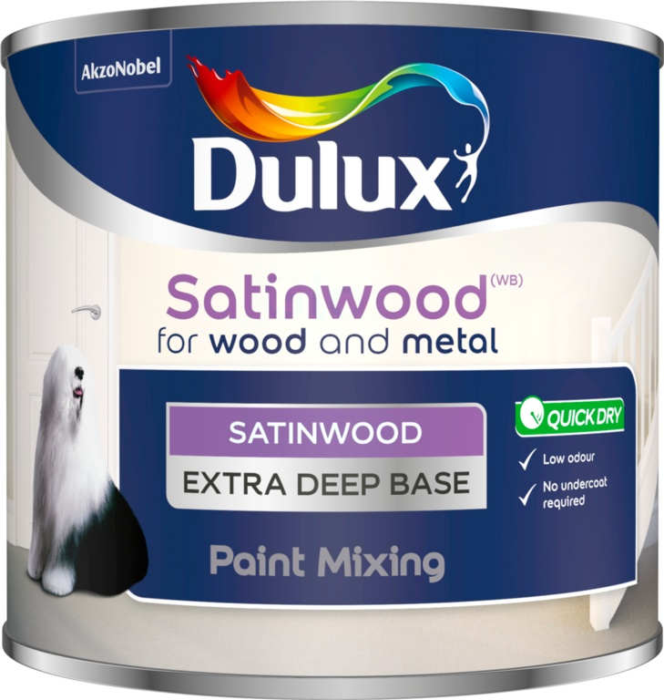 Dulux Colour Mixing 500ml - Extra Deep Satinwood Base