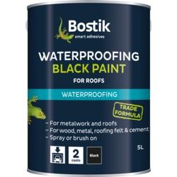 Bostik Bituminous Black Paint 2.5L