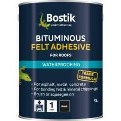 Bostik Bituminous Felt Adhesive for Roofs 2.5L