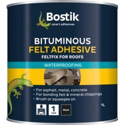 Bostik Bituminous Felt Adhesive for Roofs 1L