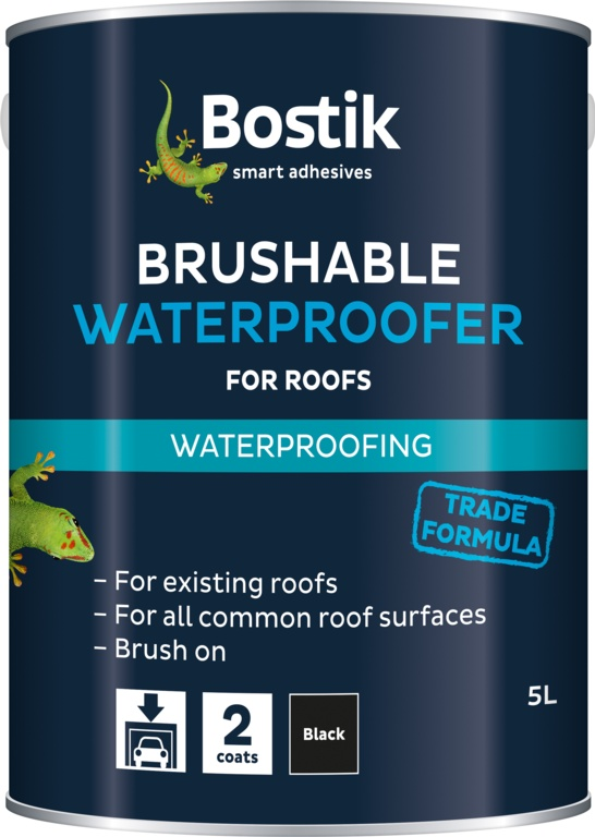 Bostik Brushable Waterproofer For Roofs - 2.5L