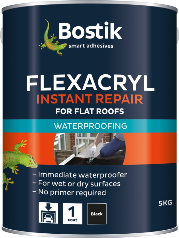 Evo-Stik Flexacryl - 5kg Black