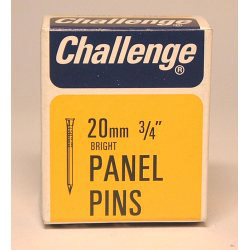 Challenge Panel Pins - Bright Steel (Box Pack)