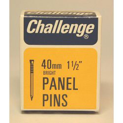 Challenge Panel Pins - Bright Steel (Box Pack) - 40mm