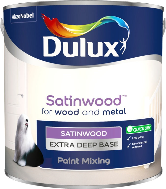 Dulux Colour Mixing 2.5L - Extra Deep Satinwood Base