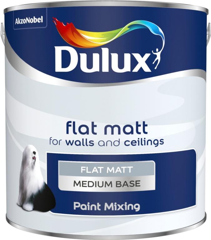 Dulux Colour Mixing 2.5L - Medium Flat Matt