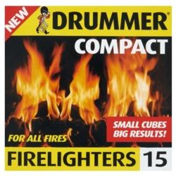 Drummer Firelighters Block