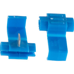 SupaLec Insulating Connectors - Wire Lock - Blue