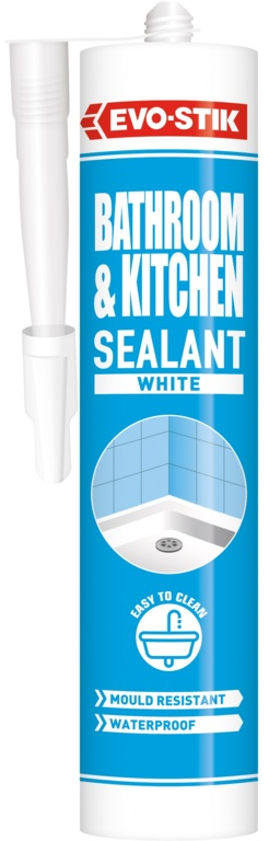 Evo-Stik Kitchen, Shower & Bath Sealant - 310ml White