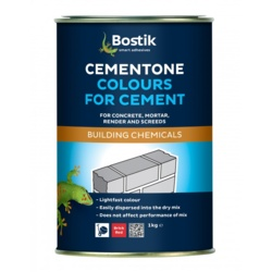 Cementone Colours For Cement 1kg - Brick Red