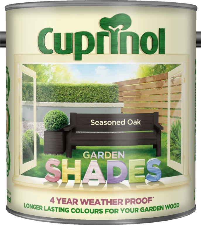 Cuprinol Garden Shades 2.5L - Seasoned Oak