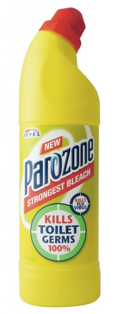 Parozone Strongest Bleach 750ml - Citrus