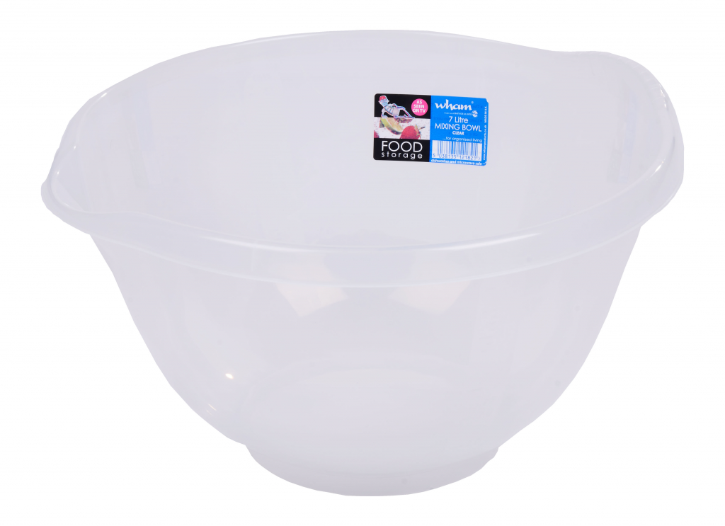 Wham Clear Mixing Bowl - 7ltr