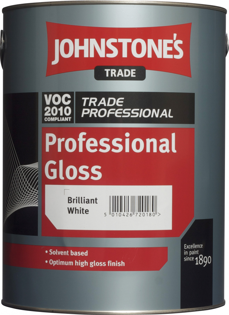 Johnstone's Trade Professional Gloss - 'L' 0.96L