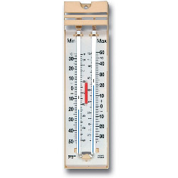 Brannan Quick Set Push Button Maximum Minimum Thermometer