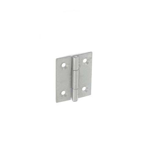Securit Steel Butt Hinges Self Colour - 40mm Pack 20