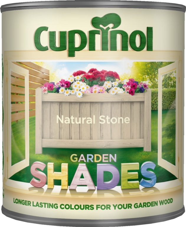 Cuprinol Garden Shades 1L - Natural Stone