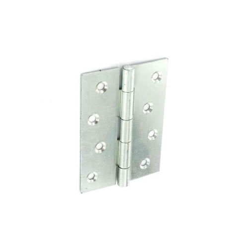 Securit Steel Butt Hinges Zinc Plated - 100mm 10 Pack
