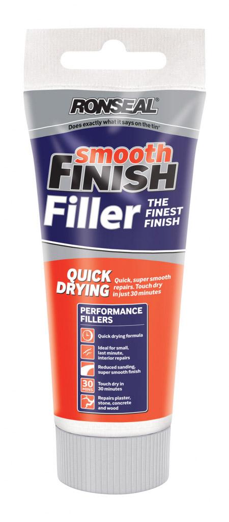 Ronseal Smooth Finish Filler - 330g tube